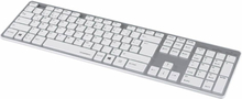 Hama Keyboard Rossano Nordic Layout White/Silver