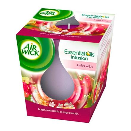Doftljus Air Wick Röd Frukt - x3