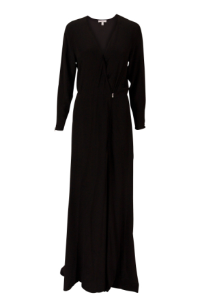 Dagmar Deborah Long Dress Black 38