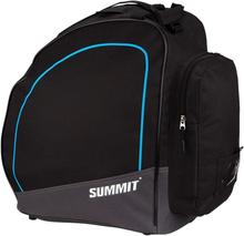 Summit taske til skistøvler sort og koboltblå