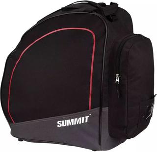 Summit taske til skistøvler sort og rød