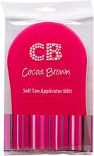 Cocoa Brown Pink Tanning Mitt, Cocoa Brown Brun utan sol