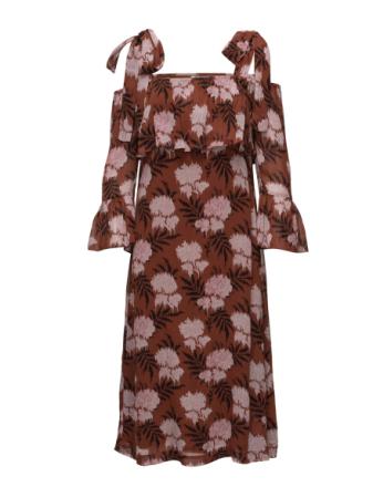 Monette Georgette Maxi Dress