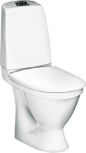 Gustavsberg Toalettstol Nautic 1510 Standardsits Dubbelspolning P-lås