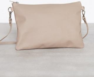 Dagmar Leather Strap Bag Kuvertväskor Stone