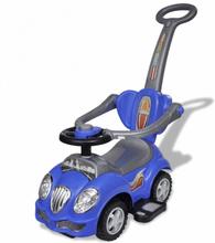 Lekebil med håndtak - blå