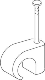 Tc 2-3 1.4x15mm clear clip round