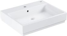 GROHE Cube Servant m/Kranehull, Overløp & Antibakteriell overflate - 60x49 cm