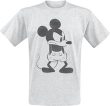 Mickey Mouse - Angry -T-skjorte - gråmelert