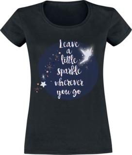 Peter Pan - Tinker Bell - Leave A Little Sparkle -T-skjorte - svart