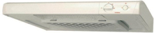 Cooker hood white esl135wmr turn button