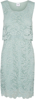 MAMA.LICIOUS Lace Nursing Dress Kvinna Blå