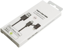 Iphone cable with micro usb adaptor 1 m