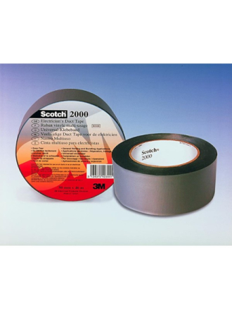 Scotch® 2000 electricians duct tape grey 50 mm x 46 m
