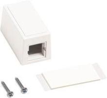 Surface mount box m101 single port white