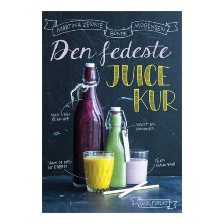 Den fedeste juicekur BOG Forfatter: Martin & Zennie Bonde Mogensen, 1 stk