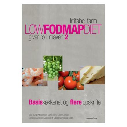 Low foodmap diet 2 bog Forfatter: Stine Junge Albrechtsen m.fl, 1 stk