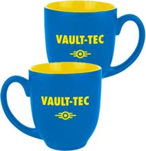 Fallout Kopp Vault Tec Logo Blå/Gul