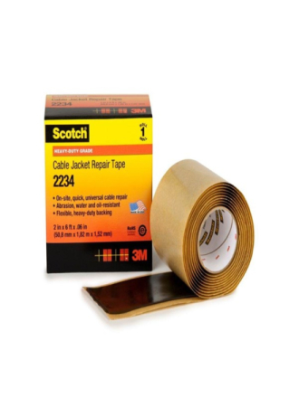 Scotch 2234 cable jacket repair tape 2 x 6