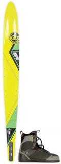 Obrien G4 Slalomskida med Obrien Legion Vattenskidbindningar
