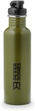 Better Bodies Fulton Bottle - Military Green - Drikkeflaske