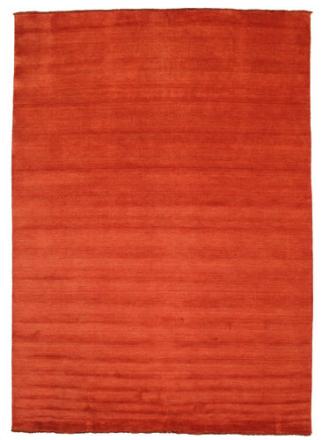 Handloom fringes - Rost / Röd matta 250x350 Modern Matta