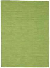 Kelim loom - Grön matta 160x230 Modern Matta