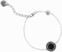 Marc Jacobs Enamel Logo Disc Bracelet Argent