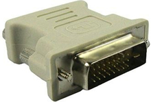 DVI 24+1-Pin Han til VGA 15-Pin Hun Adapter