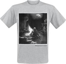 Dark Souls - Bonfire -T-skjorte - gråmelert