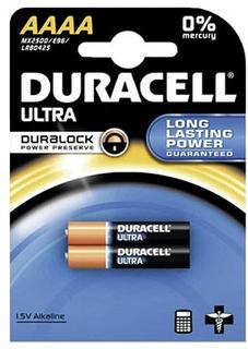 Duracell Ultra AAAA Batteri 041660 - 1.5V - 1x2