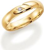 Vigselring 18k guld Allians 216-4 2.1 - 46