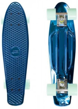 Nils Extreme Pennyboard BLUE CHROME