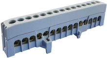 Neutral terminal blue pe15-f2 15x16mm2