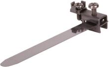 Earth clip 8-50mm 1/8 - 1 1/2 l 209mm 2.5 - 16mm2