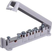 Equipotential busbar 6x 6-25 mm2