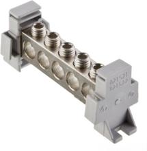 Potential equalizer busbar 5xal/cu 6-50 mm2