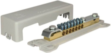 Equipotential busbar for two line connection 6-25 mm2