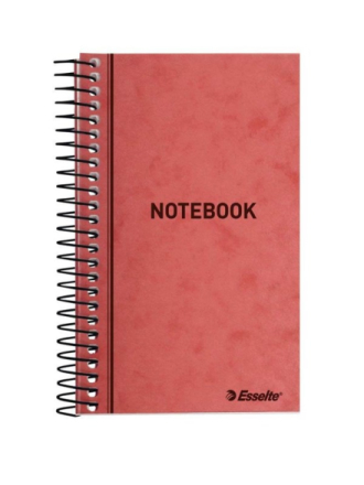 Spiral note pad 127x76mm 50 ruled sheets 13160