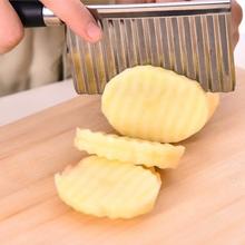 Spesialkniv for å kutte riflede poteter og grønnsaker
