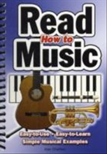 How to read music - easy-to-use, easy-to-learn; simple musical examples