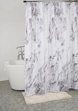 Marmor duschdraperi