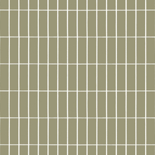 Tiiliskivi kangas Harmaa-vihreä-valkoinen