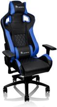 Ttesports GT-Fit 100 Krzes?o gamingowe - Czarno-niebieski - Skóra PU - Do 120 kg