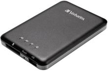 Verbatim MediaShare Wireless Storage WiFi Dataläsare Passar: iOS , Android