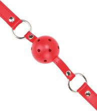 Ouch!: Ball Gag, röd