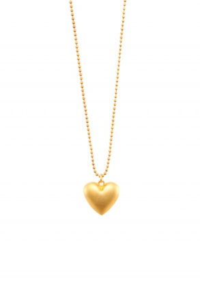 Golden heart necklace - Gullhjerte