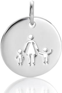 Mamma og to barn, anheng