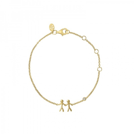 Together - My Love bracelet - gold