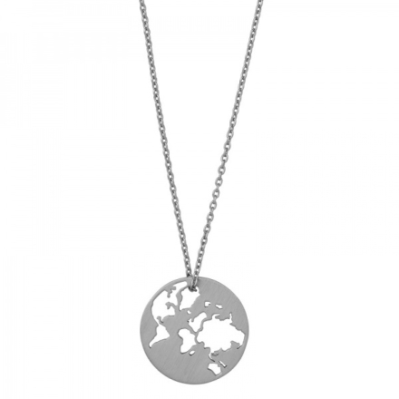 Beautiful World necklace - silver 45cm